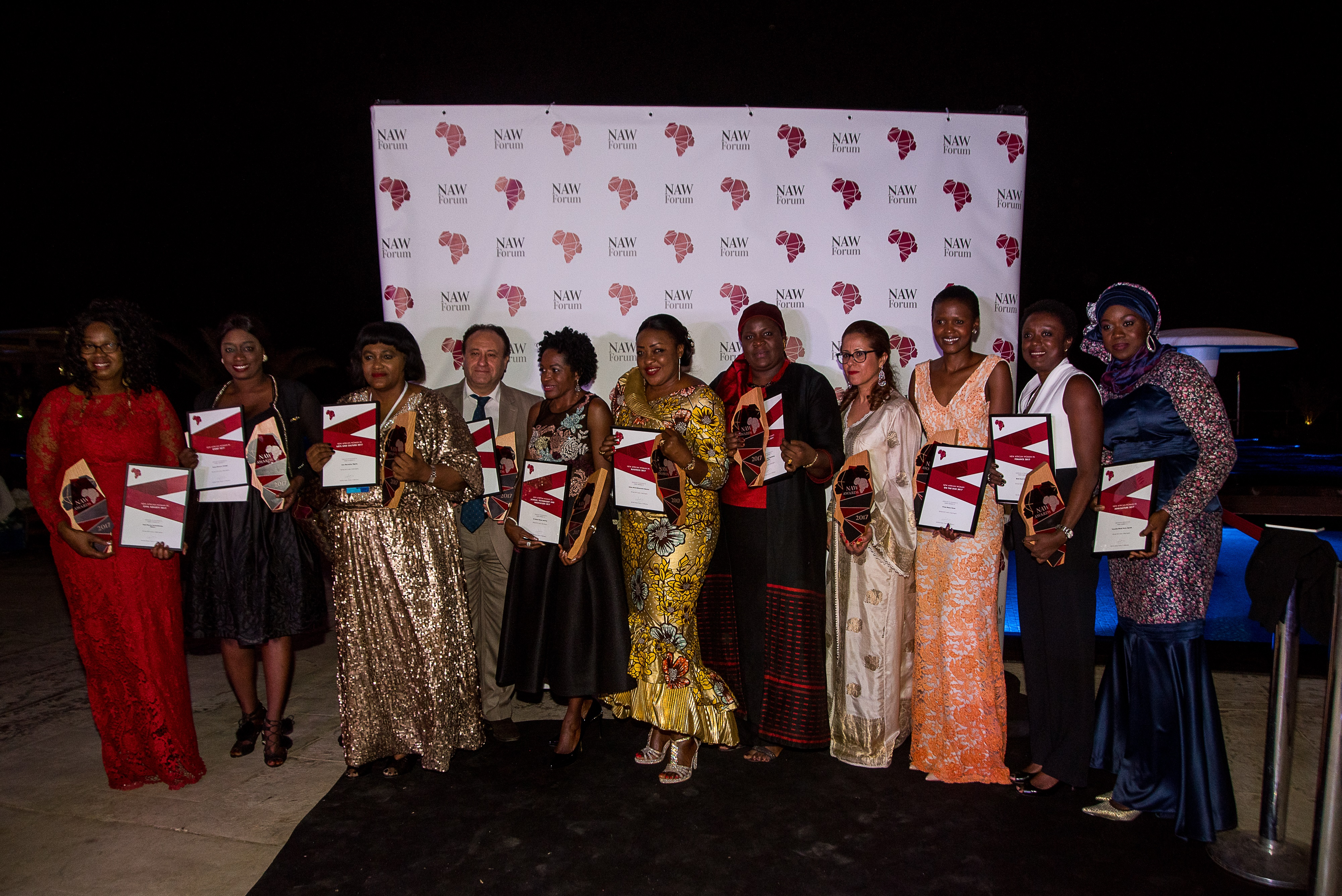 Awards put spotlight on Africa's leading women