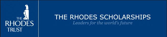 RHODES TRUST ANNOUNCES 2018 SCHOLARS-ELECT FOR OXFORD STUDY